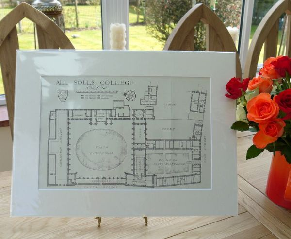 All Souls College Oxford - College Plan
